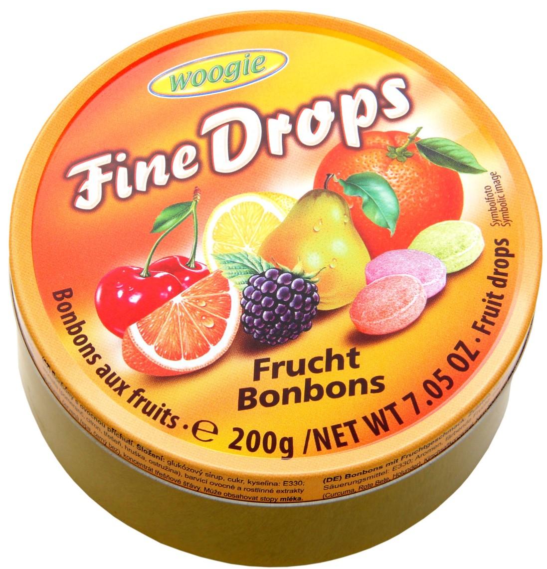 Леденцы Woogie (фруктовое ассорти) 200г