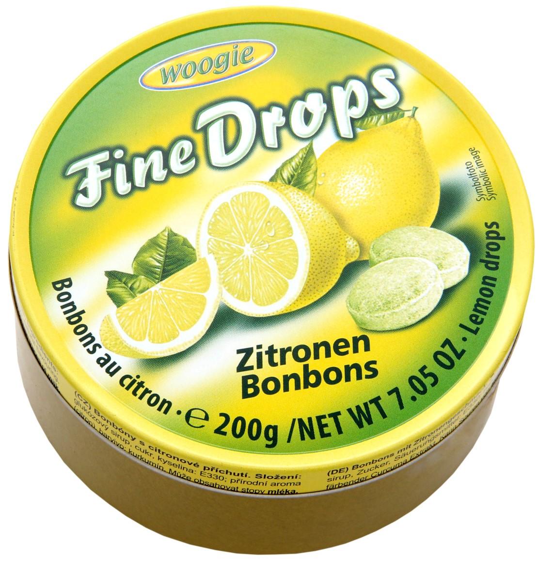 Леденцы Woogie (лимон) 200г
