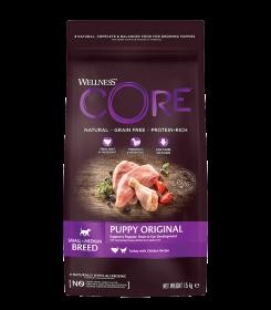 CORE Wellness из индейки с курицей д/щенков мелких и средних пород