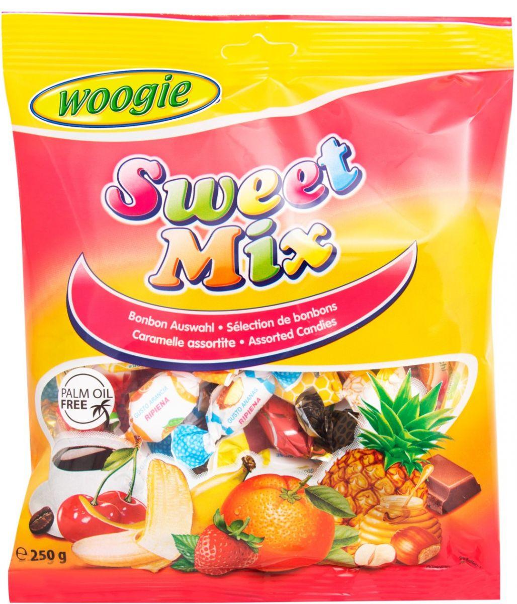 Карамель Woogie (сладкий микс) 250г