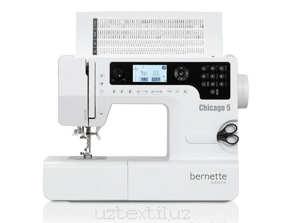 Швейная машина Bernette Chicago 5 Tikuv Mashinasi