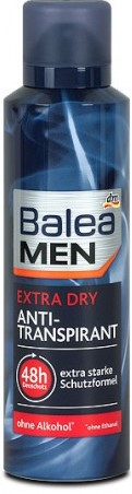 Дезодорант Balea Men (экстра сухой) спрей 200мл