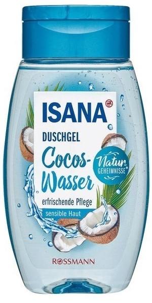 Гель для душа Isana (кокосовая вода) 250мл
