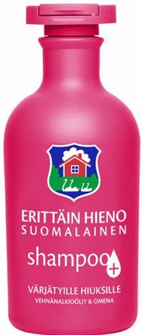 Шампунь Erittain Hieno Suomalainen (яблоко, пшеница) 300мл