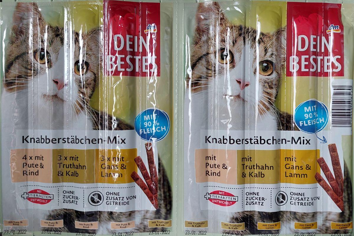 Палочки для кошек Dein Bestes (мясное ассорти) 10шт