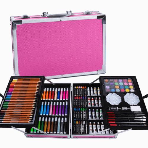 Художественный набор в чемоданчике, 145 предметов