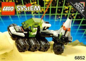 6852 Лего Вездеход космической полиции