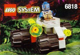 6818 Лего Вездеход пришельцев