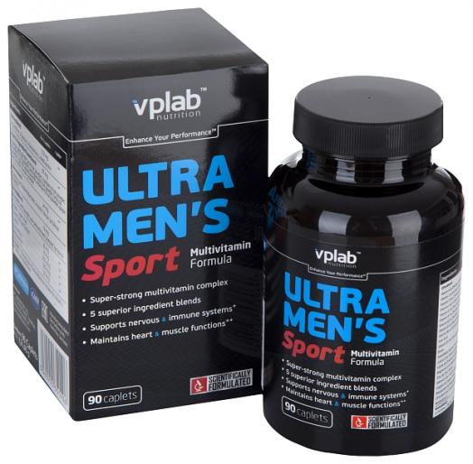Витамины Ultra Men's Sport 90кап. (VpLab Nutrition)