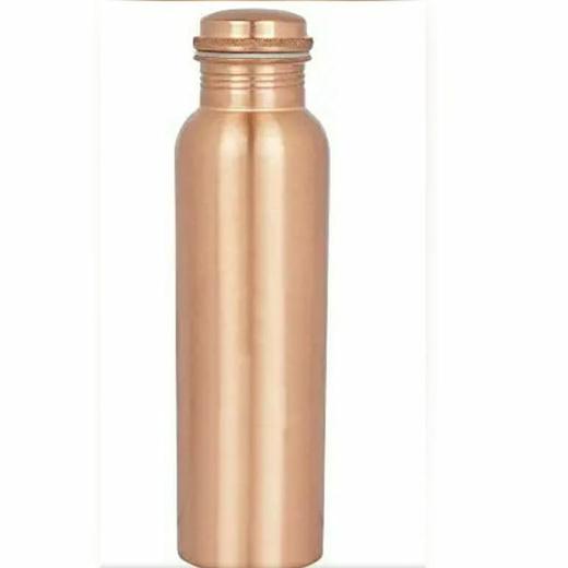 МЕДНАЯ БУТЫЛКА для воды, емкостью  1 л