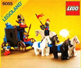 6055 Лего Конвой с пленником
