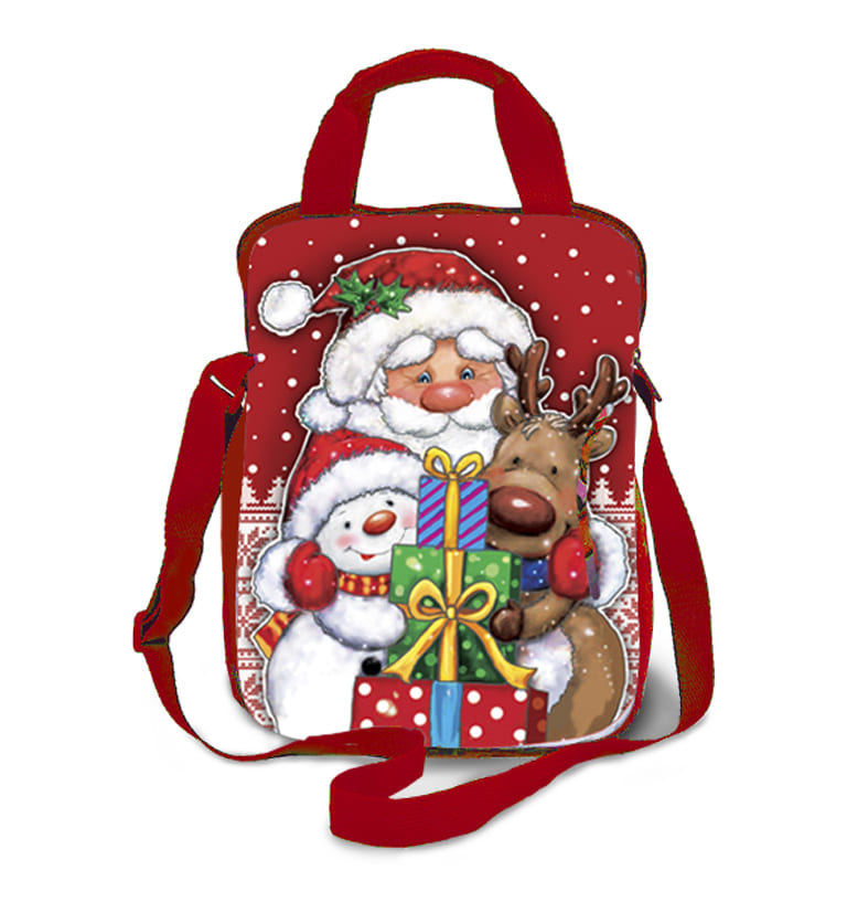 Рюкзак-сумка Друзья 2000 грамм красный