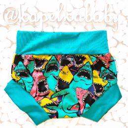Акулы Пляжные трусики-хипстеры