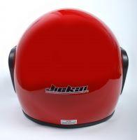 Шлем открытый Jiekai 202 red фото 4