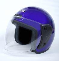 Шлем открытый Jiekai 202 blue фото 3