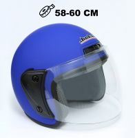 Шлем открытый Jiekai 202 blue petrol