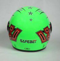 Шлем интеграл Safebet 109 Light green фото 4