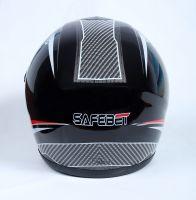 Шлем интеграл Safebet 112 black-red фото 4