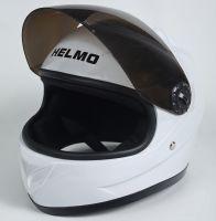 Шлем детский интеграл Helmo 02 White фото 3