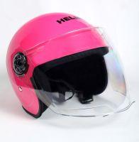 Шлем детский открытый Helmo Pink фото 2