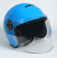 Шлем детский открытый Helmo Blue фото 2