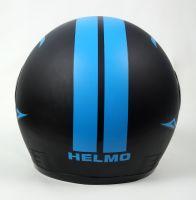 Шлем интеграл Helmo HZF03 BlackMat-Blue фото 4