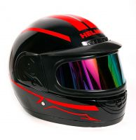 Шлем интеграл Helmo Double Glass Red фото 2