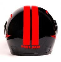 Шлем интеграл Helmo Double Glass Red фото 4