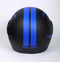 Шлем интеграл Helmo Double Glass Black-Blue фото 4