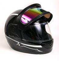 Шлем интеграл Helmo Double Glass Black-Green фото 5