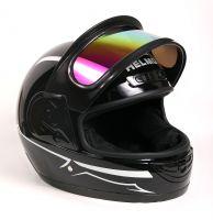 Шлем интеграл Helmo Double Glass Black-Green фото 6