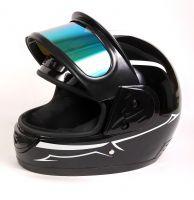 Шлем интеграл Helmo Double Glass White фотоШлем интеграл Helmo Double Glass White фото 8
