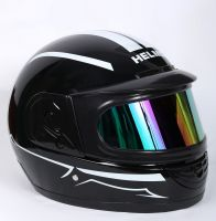 Шлем интеграл Helmo Double Glass Black-White фото 2