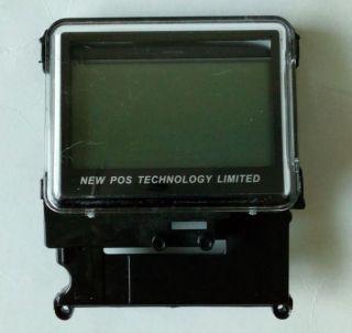 ЖК дисплей с защитным стеклом для NEWPOS 8110