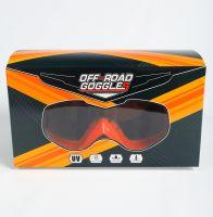 Мото очки М004 Orange фото 4