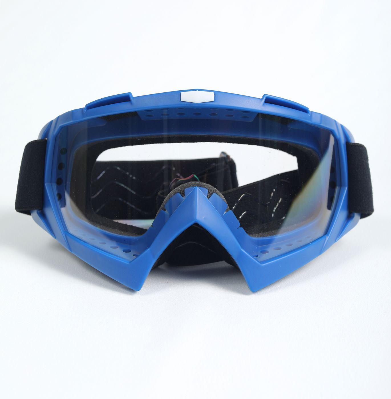 Мото очки М004 Blue