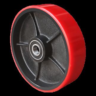 Колесо полиуретановое для тележки гидравлической 160х50
