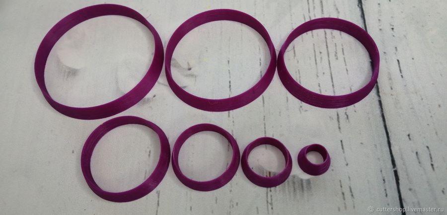 Каттеры для полимерной глины #1