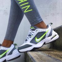 Nike Air Monarch IV White Grey Green