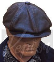 Кепка американка восьмиклинка Готэм багровый (США)