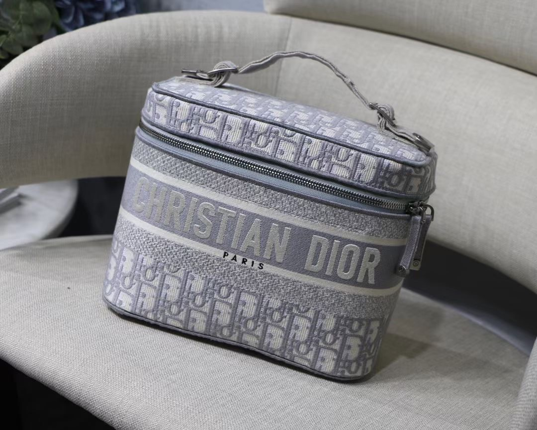 Косметичка Dior Travel Oblique
