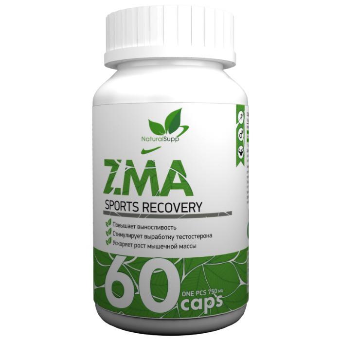 NaturalSupp - ZMA, 60 капсул