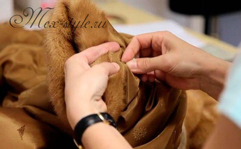 Услуги по пошиву шуб