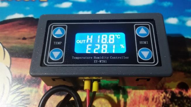 Контроль температуры и влажности XY-WTH1