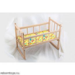 Кроватка деревянная для куклы реборн