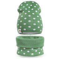 Комплект  для девочки 6-12 лет( шапка, снуд) №SG125