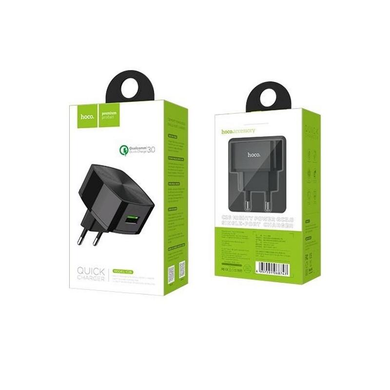 Сетевое зарядное устройство с функцией Quick Charge