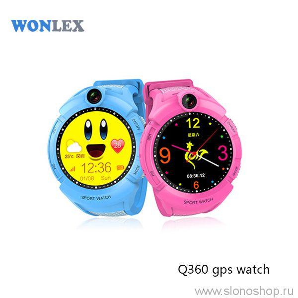 Детские умные GPS часы Smart Baby Watch gw600 с камерой и фонариком