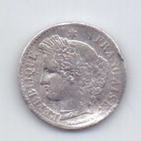 20 сантим 1850 года Франция