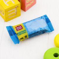 легкий пластилин голубой